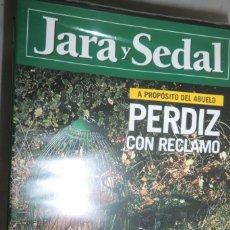 Coleccionismo deportivo: DVD JARA Y SEDAL Nº 2 PERDIZ CON RECLAMO. PERROS DE CAZA: SABUESO ESPAÑOL. Lote 222444056