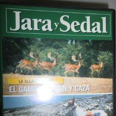 Coleccionismo deportivo: DVD JARA Y SEDAL Nº 3 EL GAMO, GESTIÓN Y CAZA. PERROS DE CAZA: PODENCO CANARIO. Lote 222444096