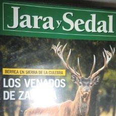 Coleccionismo deportivo: DVD JARA Y SEDAL Nº 9 LOS VENADOS DE ZAMORA. PERROS DE CAZA: BRACO ALEMÁN. Lote 222444151