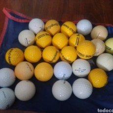 Coleccionismo deportivo: LOTE PELOTAS DE GOLF. Lote 222663477