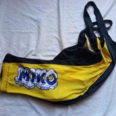 Coleccionismo deportivo: CULOTTE CICLISMO VINTAGE MIKO CYCLING RETRO VESTISPORT. Lote 222739017