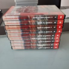 Coleccionismo deportivo: ESPAÑA BALONCESTO CAMPEONA DEL MUNDO FIBA 06 2006 JAPON 9 DVD DVD'S. Lote 223697026