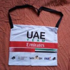 Collectionnisme sportif: BOLSA AVITUALLAMIENTO CICLISMO UAE TEAM EMIRATES 2020. Lote 225731327