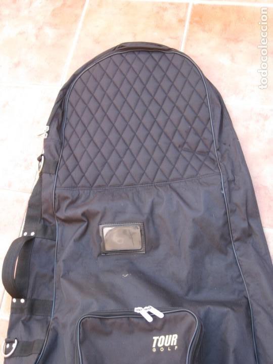 Coleccionismo deportivo: Bolso de viaje para equipamiento de golf. 120cm. - Foto 4 - 228792610