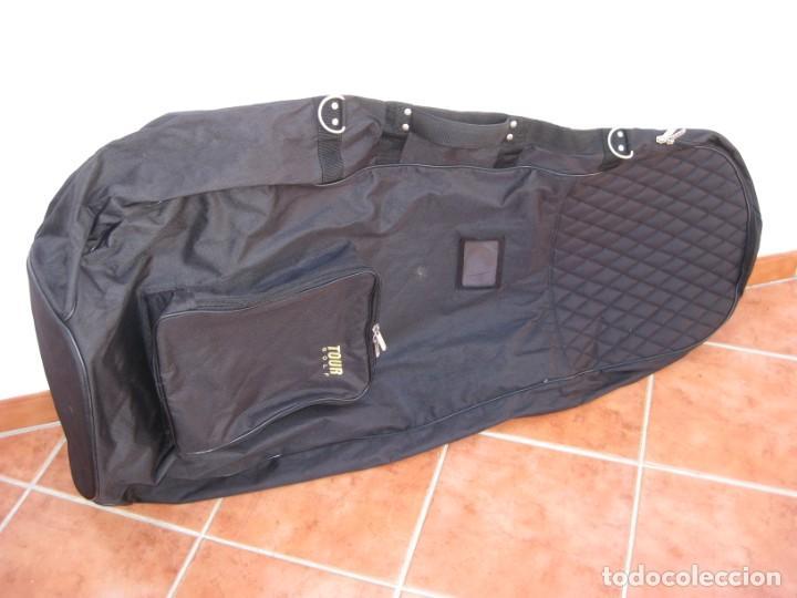 Coleccionismo deportivo: Bolso de viaje para equipamiento de golf. 120cm. - Foto 5 - 228792610
