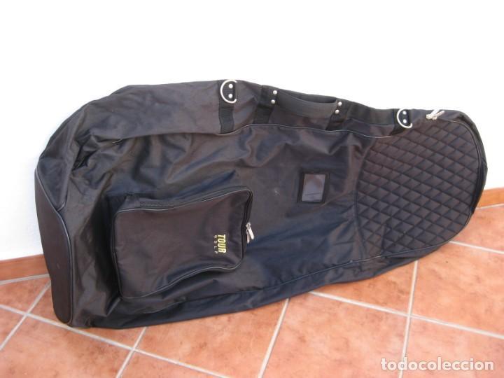 Coleccionismo deportivo: Bolso de viaje para equipamiento de golf. 120cm. - Foto 6 - 228792610