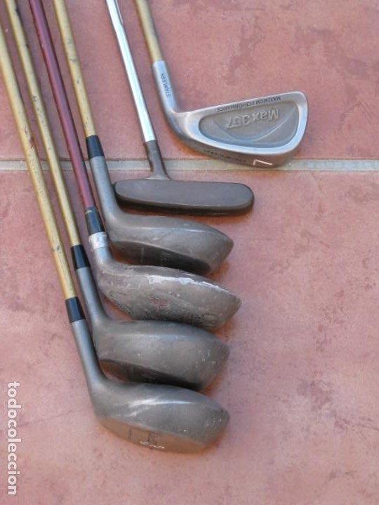 Coleccionismo deportivo: Lote de 6 palos de Golf - Foto 2 - 228793870