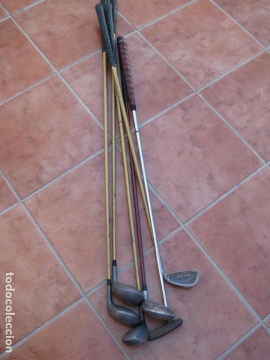 Coleccionismo deportivo: Lote de 6 palos de Golf - Foto 9 - 228793870