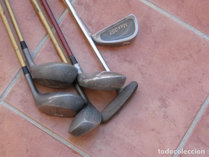 Coleccionismo deportivo: Lote de 6 palos de Golf - Foto 10 - 228793870