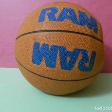 Coleccionismo deportivo: PELOTA DE BALONCESTO MARCA DE LECHE RAM. Lote 229550995