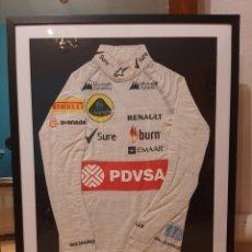 Coleccionismo deportivo: CHALECO INTERIOR CARRERAS PASTOR MALDONADO F1. Lote 230097745