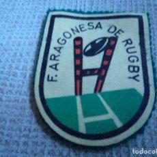 Coleccionismo deportivo: FEDERACION ARAGONESA DE RUGBY. Lote 231017235