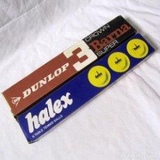 Coleccionismo deportivo: 12 PELOTAS DE PIN PON DUNLOP + HALEX. Lote 231912185