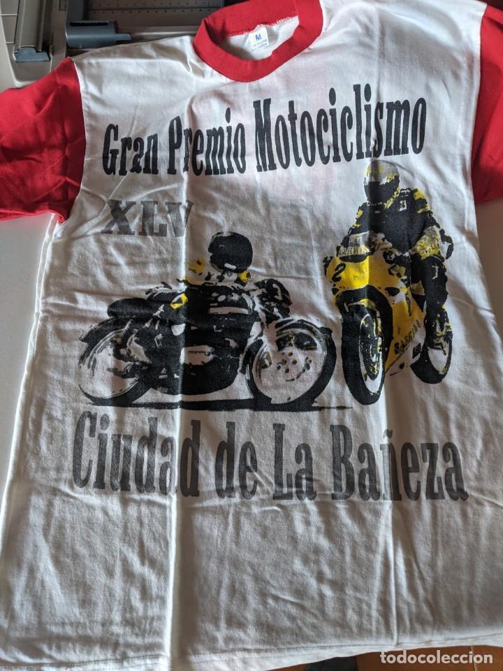 50 ANIVERSARIO GRAN PREMIO MOTOCICLISMO DE LA BAÑEZA - CAMISETA NUEVA TALLA M (Coleccionismo Deportivo - Material Deportivo - Otros deportes)
