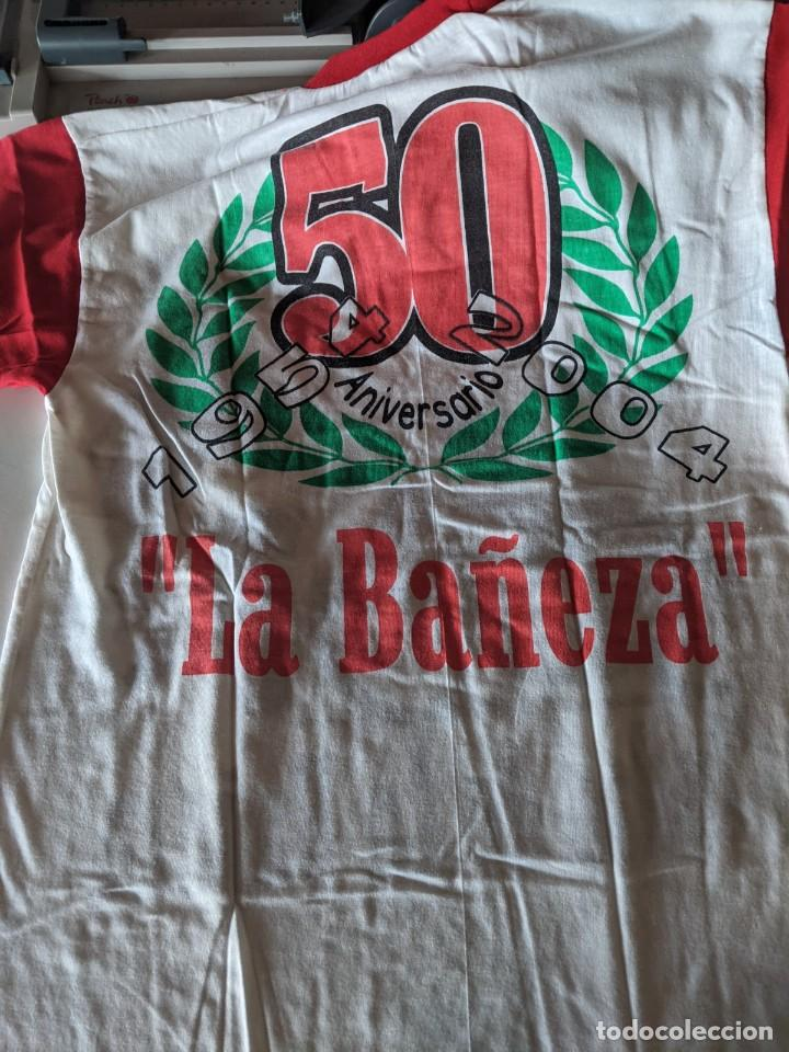 Coleccionismo deportivo: 50 ANIVERSARIO GRAN PREMIO MOTOCICLISMO DE LA BAÑEZA - CAMISETA NUEVA TALLA M - Foto 2 - 236161140