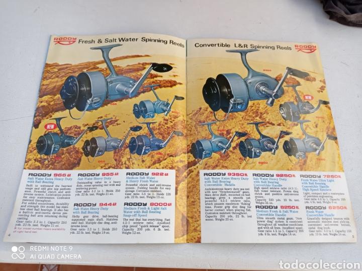Coleccionismo deportivo: CATALOGO CARRETE PESCA RODDY 11 PÁG.VER FOTOS AÑO 1971 - Foto 2 - 236313415