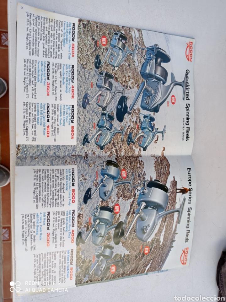 Coleccionismo deportivo: CATALOGO CARRETE PESCA RODDY 11 PÁG.VER FOTOS AÑO 1971 - Foto 4 - 236313415