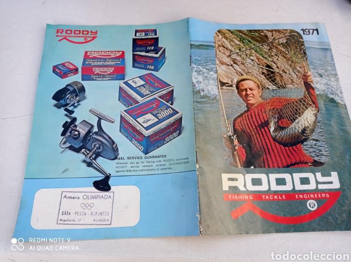 CATALOGO CARRETE PESCA RODDY 11 PÁG.VER FOTOS AÑO 1971 (Coleccionismo Deportivo - Material Deportivo - Otros deportes)