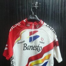 Collectionnisme sportif: MALLOT DE CICLISMO, BANESTO, MIGUEL INDURAIN. Lote 241474450