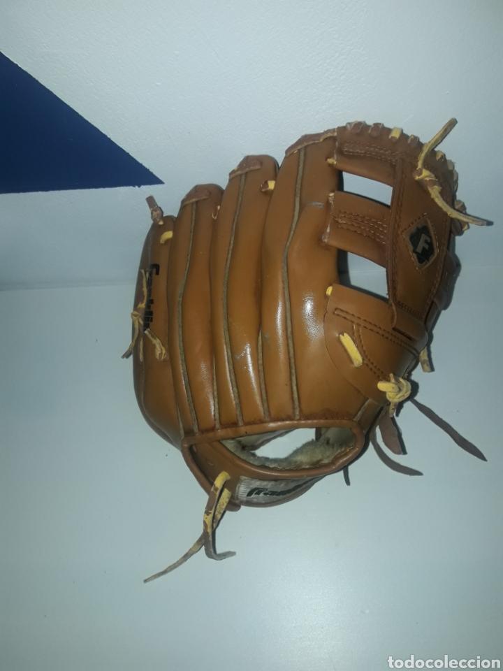 """Coleccionismo deportivo: Guante beisbol franklin 4629-11"""" cordon deteriorado field master durabond lacing - Foto 2 - 243007485"""