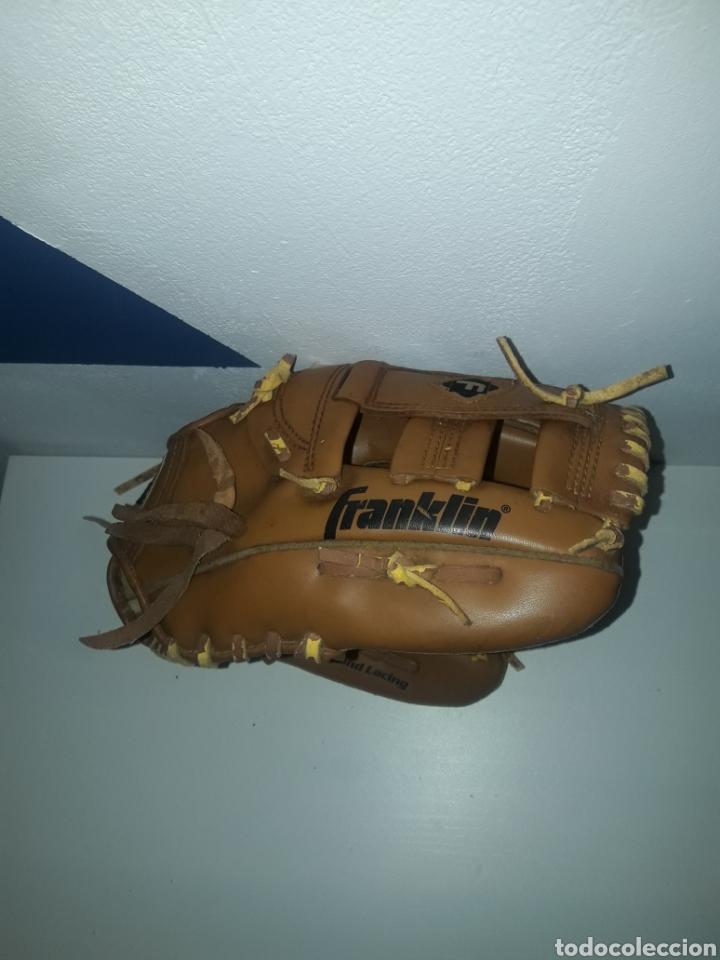 """Coleccionismo deportivo: Guante beisbol franklin 4629-11"""" cordon deteriorado field master durabond lacing - Foto 3 - 243007485"""