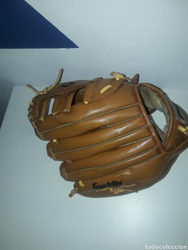 """Coleccionismo deportivo: Guante beisbol franklin 4629-11"""" cordon deteriorado field master durabond lacing - Foto 4 - 243007485"""