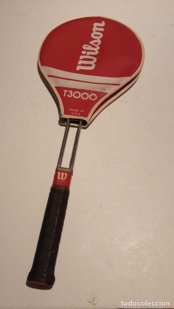 RAQUETA DE TENIS WILSON T3000 METALICA (Coleccionismo Deportivo - Material Deportivo - Otros deportes)