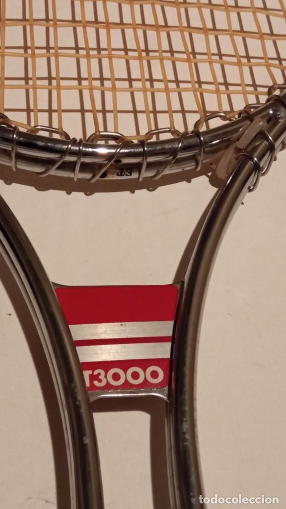 Coleccionismo deportivo: raqueta de tenis WILSON T3000 metalica - Foto 2 - 245231770