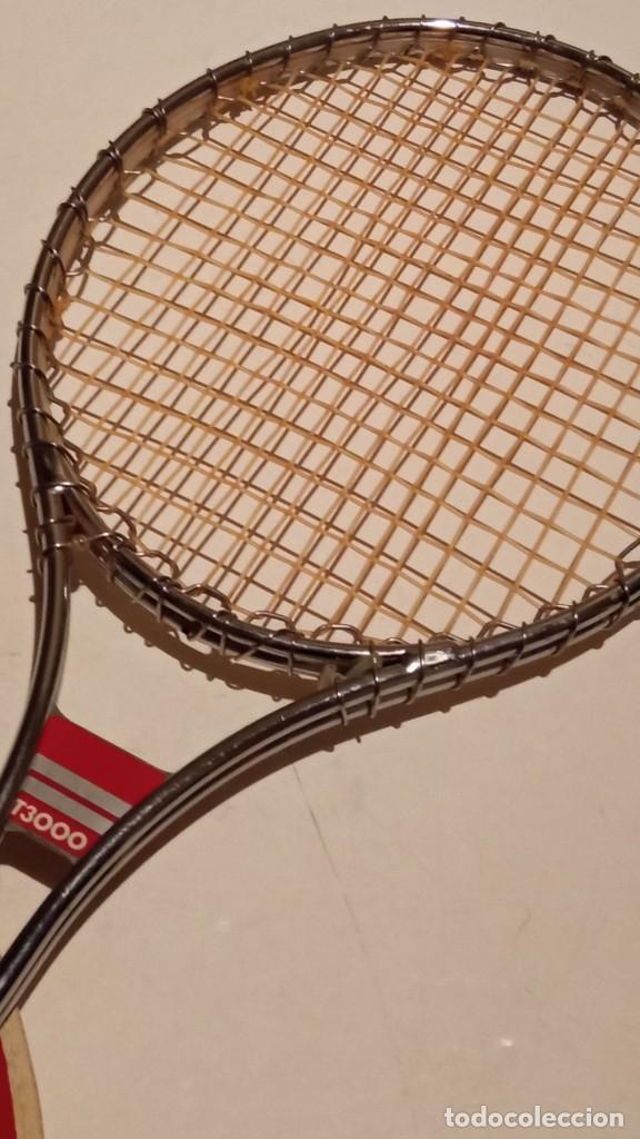Coleccionismo deportivo: raqueta de tenis WILSON T3000 metalica - Foto 5 - 245231770