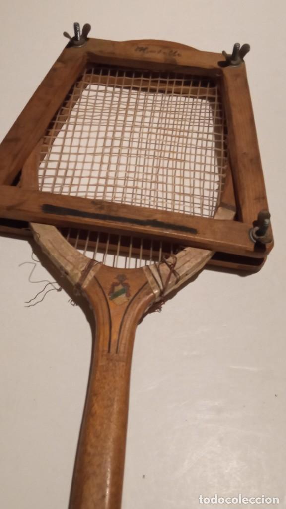 Coleccionismo deportivo: ANTIGUA RAQUETA DE TENIS DE MADERA - Foto 9 - 245251940