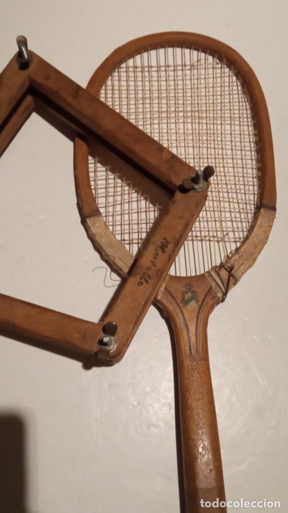 Coleccionismo deportivo: ANTIGUA RAQUETA DE TENIS DE MADERA - Foto 20 - 245251940