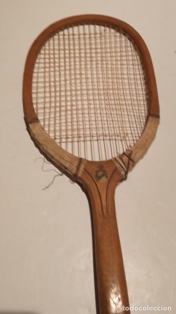 Coleccionismo deportivo: ANTIGUA RAQUETA DE TENIS DE MADERA - Foto 21 - 245251940