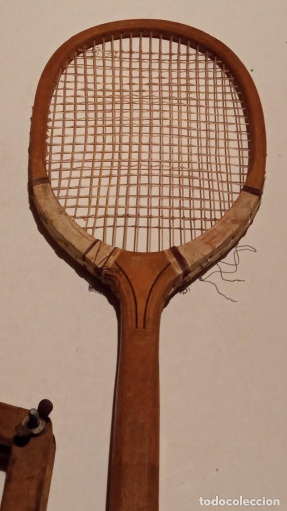 Coleccionismo deportivo: ANTIGUA RAQUETA DE TENIS DE MADERA - Foto 22 - 245251940