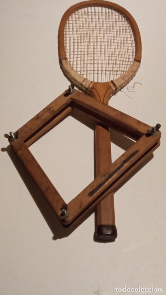 Coleccionismo deportivo: ANTIGUA RAQUETA DE TENIS DE MADERA - Foto 25 - 245251940