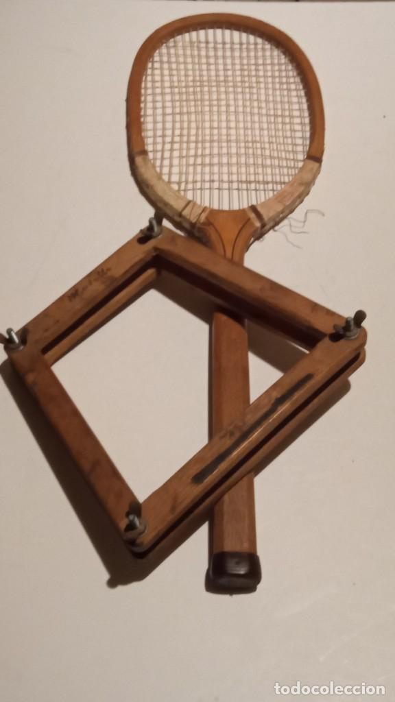 Coleccionismo deportivo: ANTIGUA RAQUETA DE TENIS DE MADERA - Foto 26 - 245251940