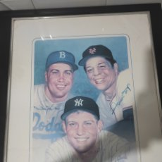 Coleccionismo deportivo: SALÓN DE LA FAMA:WILLIE MAYS MICKEY MANTLE AND DUKE SNIDER. Lote 245483075