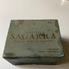 Coleccionismo deportivo: CARRETE DE PESCA SAGARRA 46-2 NUEVO Y EN CAJA. Lote 246170965