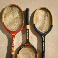 Coleccionismo deportivo: RAQUETAS DE TENIS ANTIGUAS MARCA DONNAY. Lote 248708885