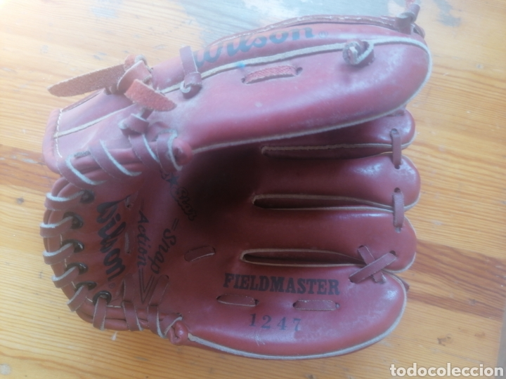 Coleccionismo deportivo: Guante beisbol Wilson juvenil fieldmaster 1247 #BE0001 - Foto 2 - 252923490