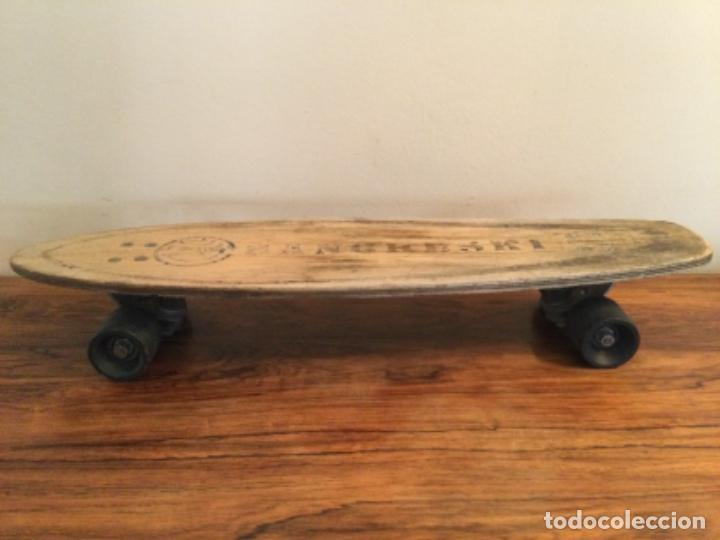 Coleccionismo deportivo: Monopatin skate Sancheski de madera RETRO VINTAGE - Foto 2 - 254707365