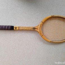 Coleccionismo deportivo: RAQUETA DE TENIS DUNLOP DE MADERA ANTIGUA. Lote 259323620