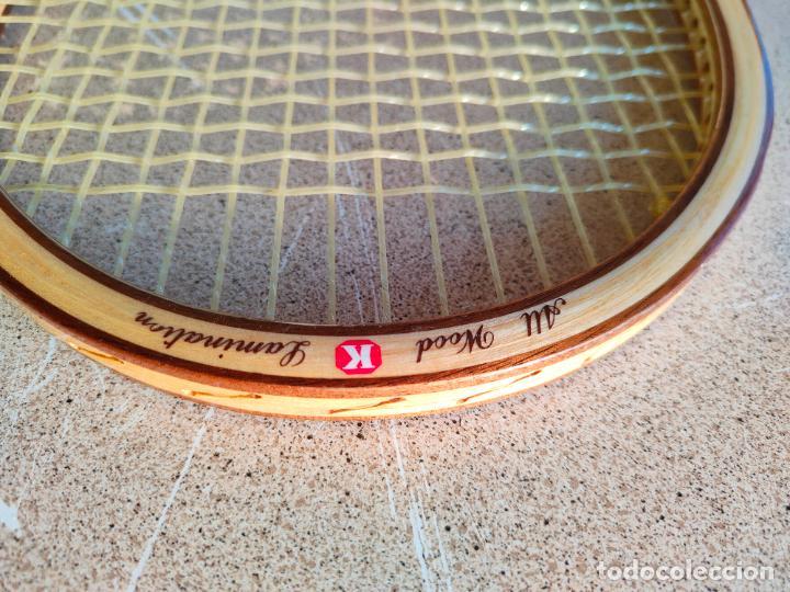 Coleccionismo deportivo: RAQUETA DE TENIS ANTIGUA DE MADERA NUEVA Kawasaki - Foto 2 - 261121355