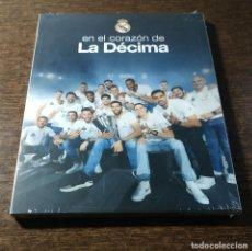 Coleccionismo deportivo: EN EL CORAZÓN DE LA DÉCIMA (DVD) REAL MADRID DE BALONCESTO. Lote 262148950