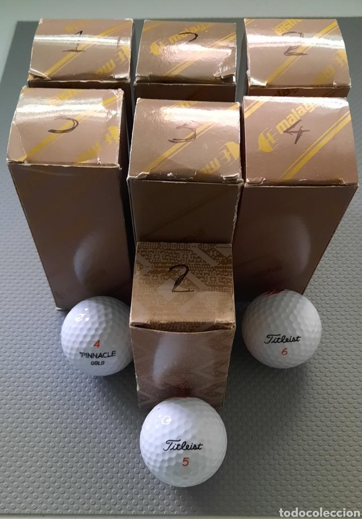 Coleccionismo deportivo: Golf pelotas 23 nuevas, PINACLE GOLD y FITLEIST - Foto 2 - 262770535