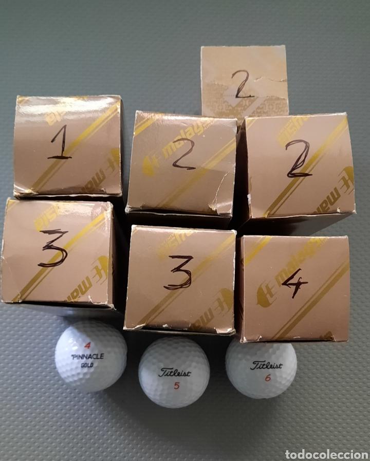 Coleccionismo deportivo: Golf pelotas 23 nuevas, PINACLE GOLD y FITLEIST - Foto 3 - 262770535