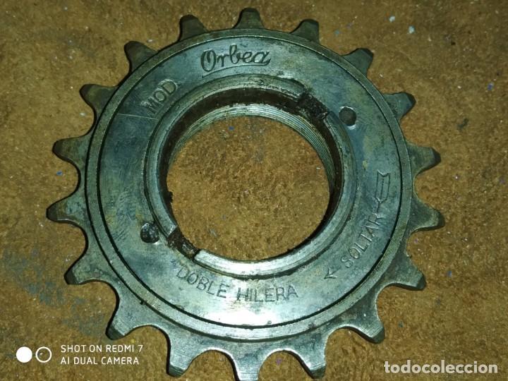 Coleccionismo deportivo: clasico piñon orbea bicicleta orbea clasica carretera y varillas pieza coleccion correcto calidad - Foto 3 - 262814585