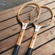 Collectionnisme sportif: PARA RAQUETAS DE MADERA. Lote 262814865