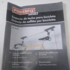 Coleccionismo deportivo: SOPORTE TECHO BICICLETAS. Lote 265535959