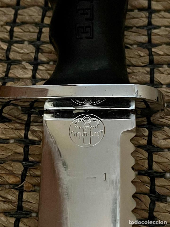 Coleccionismo deportivo: CUCHILLO DE BUCEADOR DE COMBATE ,AQUA- LUNG , NAVY KNIFE , SUBMARINISMO. MADE IN JAPAN - Foto 15 - 266956829