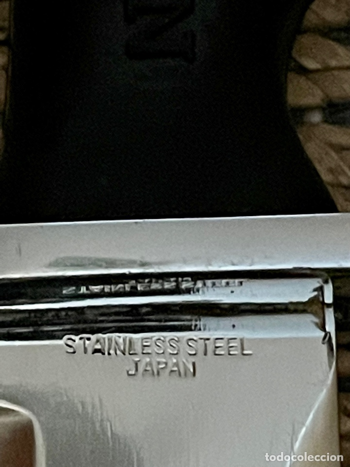 Coleccionismo deportivo: CUCHILLO DE BUCEADOR DE COMBATE ,AQUA- LUNG , NAVY KNIFE , SUBMARINISMO. MADE IN JAPAN - Foto 18 - 266956829